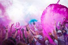 Holi - The Hindu celebration of Spring. Amazing photography.