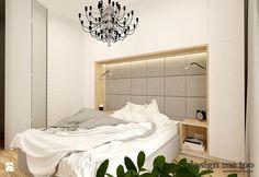 APARTAMENT W RUMI - Sypialnia, styl nowoczesny - zdjęcie od design me too
