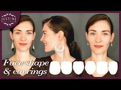 How to choose earrings for your face shape | My earring collection | Justine Leconte - YouTube