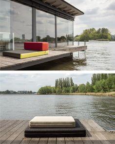 Una casa galleggiante a Berlino