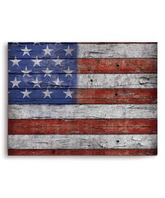 Look at this American Flag Wall Décor on #zulily today!