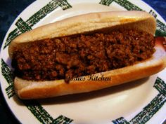 Jodies Kitchen: Jodies Kitchen Hotdog Chilli