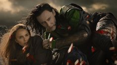 it could be nothing but I think Loki looks a little protective over Jane