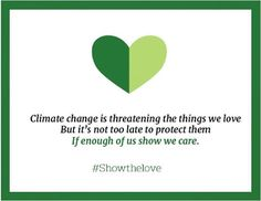Happy Valentine's Day! How do you #ShowTheLove for the places you love and for our planet? Sign up for our DAILY ACTIONS or follow us on Facebook to learn about things, big and small, that you can do everyday to combat climate change. http://yearsoflivingdangerously.com/learn/news/get-daily-action-reminders/ : @climatereality | YEARS of LIVING DANGEROUSLY Instagram