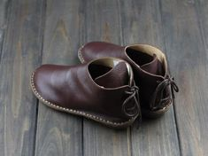 Handmade Women Leather Shoes,Oxford Soft Shoes, Flat Shoes, Very Comfortable Black Leather Shoes, Leather Ankle Boots, Soft Leather, Handmade Leather Shoes, Felt Shoes, Leather Slippers, How To Make Shoes, Casual Heels, Brown Shoe