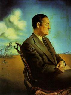 Portrait of Reinaldo Herrera Marquis De Torre Casa - Dali Salvador