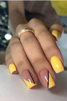 Bright Summer Acrylic Nails, Cute Summer Nails, Best Acrylic Nails, Cute Nails, Nail Summer, Shellac Nail Art, Fancy Nails, Nails Summer Colors, One Color Nails