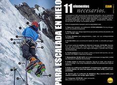 Material necesario para la práctica de la Escalada en Hielo by FEDME - issuu