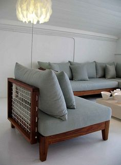 Riempie inspired couch design by South Africa's Haldane Martin African Furniture, Dinning Set, Couch Design, African Design, Elle Decor, Love Seat, Living Spaces, Furniture Design, Interior Decorating