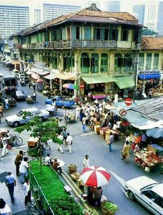 Singapore early 1980's. Anyone recognise the roads?