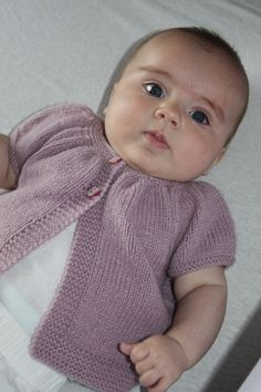 Ravelry: Baby Kina (short+ long sleeved version) by Muriela