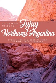 3 Day Itinerary for Jujuy, Argentina. How to visit Purmamarca, Tilcara & Humahuaca Backpacking South America, South America Travel, North America, Machu Picchu, Travel Guides, Travel Tips, Travel Goals, Travel Advice, Patagonia