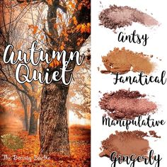 Warm fall eyeshadow colors in this custom pressed shadow palette from Younique Eye Makeup Art, Fall Makeup, I Love Makeup, Makeup Eyeshadow, Younique Eyeshadow Palette, Fall Eyeshadow Looks, Younique Presenter, Warm Autumn, Colorful Eyeshadow