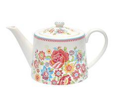 Greengate teapot Maggie White