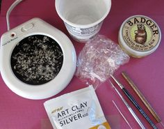 Metal Clay Setup   Welcome to my new Behind the Scenes  blog series that shows how I create handcrafted silver charms for Hint Jewelry ! Yo...
