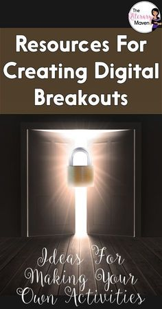 The timer is ticking. Will your students be able to escape? Breakouts are a great way to make content interactive and encourage collaboration among students. Learn more about breakout activities, also known as Escape Room games, and how I planned and crea Breakout Game, Breakout Boxes, Escape Room, Escape The Classroom, Classroom Ideas, Google Classroom, Flipped Classroom, Classroom Inspiration, Blended Learning