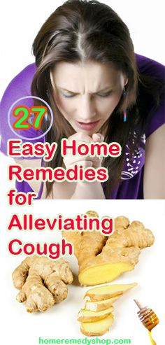 27 Easy Home #Remedies for #Alleviating #Cough - > #HomeRemedies #AlleviatingCough