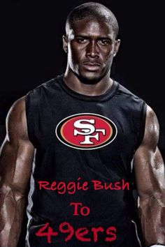 LIMITED San Francisco 49ers Reggie Bush Jerseys