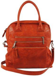 R+J Handbags Enah Tote Persimmon