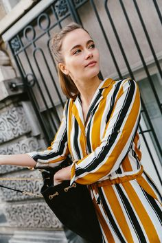 TRENDSof the season: the culotte jumpsuit. #streetstyle #culottes #jumpsuit