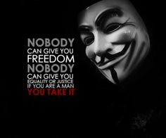Nobody can...