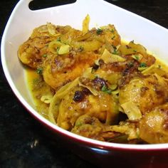 Moroccan Chicken - want to try this with salmon