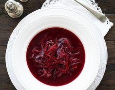 Deilig rødbetesuppe - Tara Chili, Cabbage, Soup, Treats, Vegetables, Sweet Like Candy, Chili Powder, Chilis, Veggies