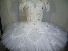 A stunning white professional tutu that can be used for multiple roles. Made by…