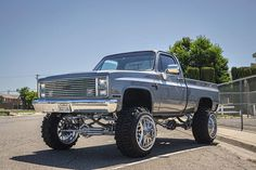Photo by Keith Young on August Image may contain: sky, tree, car and outdoor Chevy Pickup Trucks, Lifted Chevy Trucks, Gm Trucks, Chevrolet Trucks, Chevrolet Silverado, Custom Pickup Trucks, Classic Pickup Trucks, Single Cab Trucks, Dropped Trucks