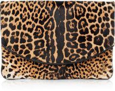 Leopard clutch
