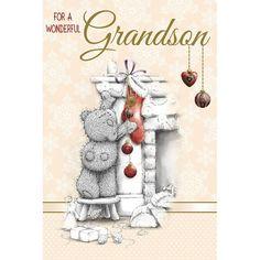 Grandson Me to You Bear Christmas Card £2.49