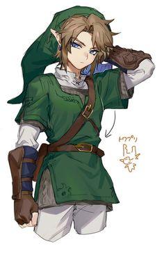 Legend of Zelda art > Link - Hero of Courage Creepypasta, Character Design, Legend, Anime Princess, Zelda Art, Comic Link, Art, Hero, Anime Outfits