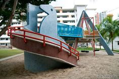 The Vintage Mosaic Playgrounds of Singapore