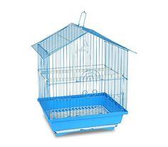 Esta jaula de metal es estable, cómoda y espaciosa, adecuada especialmente para aves pequeñas como canarios o periquitos. El bebedero de plástico reduce la suciedad alrededor de la jaula, evitando así que la arena y las plumas salgan fuera. Esto hace que sea una jaula...