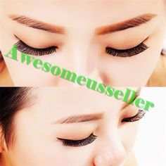 90Pairs Soft Natural Handmade Eye Lash Makeup Charming False Eyelashes #148B #MissDaisy