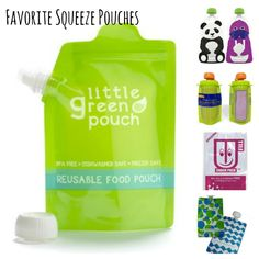 Our picks for best refillable squeeze pouches