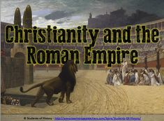 This wonderful, visually-engaging PowerPoint lesson follows early Christianity in the Roman Empire and its growth to becoming the dominant religion in the region. It begins with a description of Roman religion then details Jesus, Paul, and the reasons why Christianity was able to grow despite early persecution in Rome. Each slide includes fantastic visuals, graphics, and easy-to-follow notes on essential topics based on state standards!