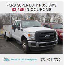 Looking for a powerful #truck?? Check out this #SuperDutyF350!!! For more information and  availability of #coupons on this vehicle go to www.wowcarcoupon.com!! #wowcarcoupon #couponsforcars