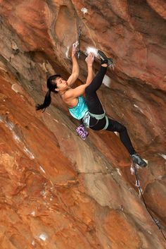 Andrea blows an 'aloHAH' to the camera on Daemon Flower (31), Muline, the Grampians. Lee Cossey