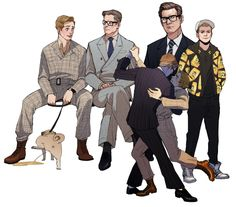 Kingsman: the Secret Service - Harry Hart x Gary 'Eggsy' Unwin - Hartwin