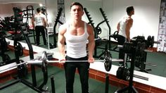 Standing Bicep Barbell Curls
