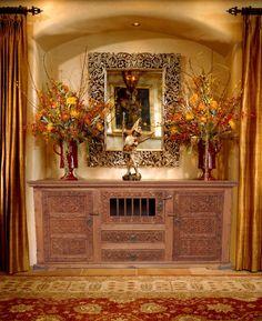 Antik Look Orient TV Schrank Sideboard Buffet Anrichte Kommode Cabinet