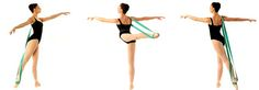 Balletband – Hands Free Resistance Band for Dancers