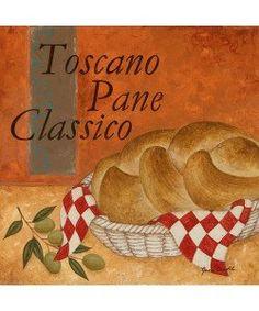 Jane Carroll, Toscano Pane Classico