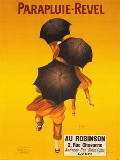 Parapluie-Revel Prints by Leonetto Cappiello at AllPosters.com