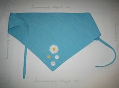 Herminia Regolf: Pañuelo con flores a ganchillo