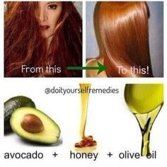 Home made remedy for damaged hair. Try it.  Connect with us on http://ift.tt/1ZPKLqy  #hair#derma#homemade#remedies#DIY#doityourself#avacado#honey#oliveoil#health#wellness#iot#iiot#meetzena by meetzena
