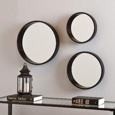 Southern Enterprises Decorative Wall Mirror 3 Piece Set