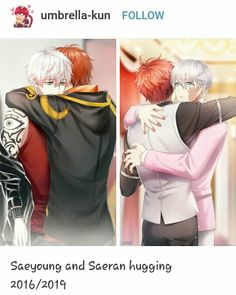 I shed tears of joy❤️❤️ Mystic Messenger Unknown, Mystic Messenger Characters, Mystic Messenger Fanart, Mystic Messenger Memes, Manga Anime, Anime Guys, Yuri Cosplay, Diabolik Lovers, Baby Massage