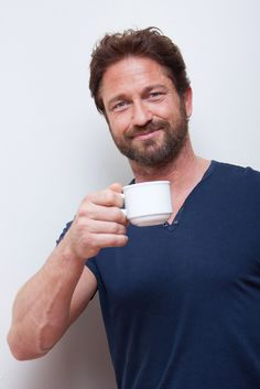 Gerry loves his coffee! HQ